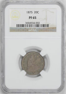 Click now to see the BUY IT NOW Price! 1875 20C NGC PR 65