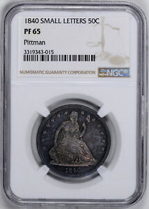 Click now to see the BUY IT NOW Price! 1840 LIBERTY SEATED 50C NGC PR 65