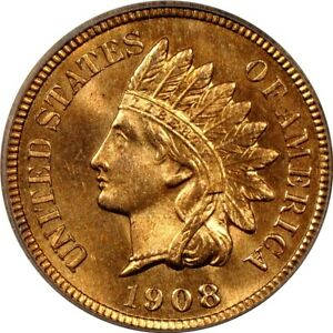 Click now to see the BUY IT NOW Price! 1908 S 1C INDIAN CENT PCGS MS66RD  CAC/PHOTO SEAL