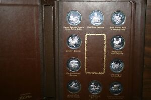 Click now to see the BUY IT NOW Price! HISTORY OF CIVIL WAR LINCOLN MINT .999 32 OZ TOTAL SILVER 40 COMMEMORATIVE COINS