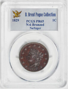Click now to see the BUY IT NOW Price! 1829 CORONET HEAD 1C PCGS PR 65 RB