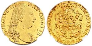 Click now to see the BUY IT NOW Price! 1784 GREAT BRITAIN GEORGE III GOLD GUINEA NGC MS63