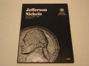 1962  1995 JEFFERSON NICKEL COLLECTION IN WHITMAN FOLDER 2 66 COINS MOST MINT