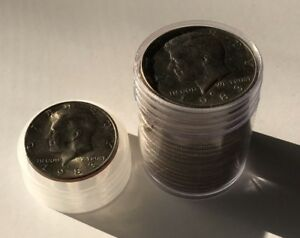 LOT  20  1983 P UNCIRCULATED KENNEDY HALF DOLLARS AU ROLL 50C SEE PICTURES