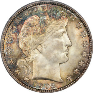 Click now to see the BUY IT NOW Price! 1905 O 50C BARBER HALF DOLLAR PCGS MS67 CAC