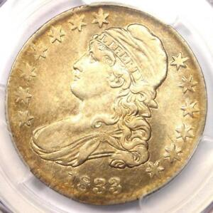 1833 CAPPED BUST HALF DOLLAR 50C   PCGS XF DETAILS  EF     CERTIFIED COIN