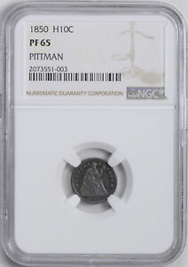 Click now to see the BUY IT NOW Price! 1850 LIBERTY SEATED H10C NGC PR 65