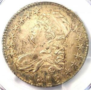1813 CAPPED BUST HALF DOLLAR 50C O 105   PCGS AU58   NEAR MS/UNC   $2 400 VALUE