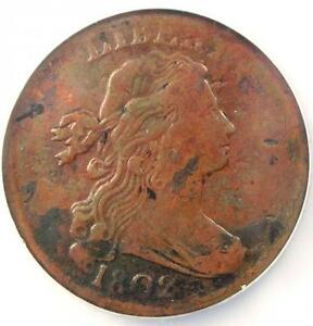 1802 DRAPED BUST LARGE CENT 1C S 233   NGC XF DETAILS    EF EARLY DATE PENNY