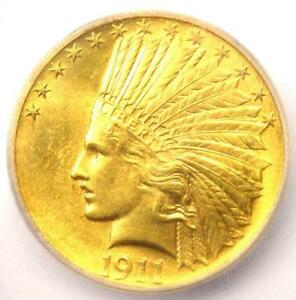 1911 INDIAN GOLD EAGLE  $10 COIN    CERTIFIED ICG MS64   $1 860 VALUE