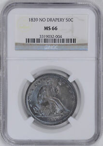Click now to see the BUY IT NOW Price! 1839 LIBERTY SEATED 50C NGC MS 66