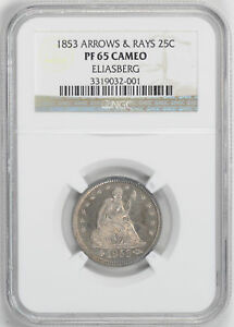 Click now to see the BUY IT NOW Price! 1853 LIBERTY SEATED 25C NGC PR 65 CAM