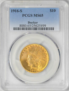 Click now to see the BUY IT NOW Price! 1916 S INDIAN $10 PCGS MS 65