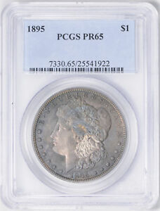Click now to see the BUY IT NOW Price! 1895 MORGAN S$1 PCGS PR 65
