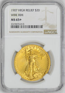 Click now to see the BUY IT NOW Price! 1907 ST. GAUDENS $20 NGC MS 65