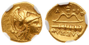 Click now to see the BUY IT NOW Price! GREEK. MACEDON ALEXANDER III 325 319 BC AV QUARTER STATER. NGC AU 4/5 4/5