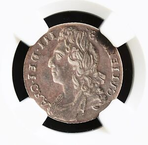 Click now to see the BUY IT NOW Price! GREAT BRITAIN 6P WILLIAM III MIRROR BROCKAGE ERROR NGC GRADED AU 55