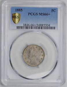 Click now to see the BUY IT NOW Price! 1885 LIBERTY 5C PCGS MS 66