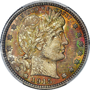 Click now to see the BUY IT NOW Price! 1915 25C BARBER QUARTER PCGS MS67 CAC