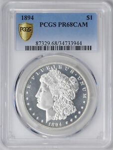 Click now to see the BUY IT NOW Price! 1894 MORGAN S$1 PCGS PR 68 CAM