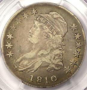 1810 CAPPED BUST HALF DOLLAR 50C   PCGS VF30 PQ    EARLY DATE COIN