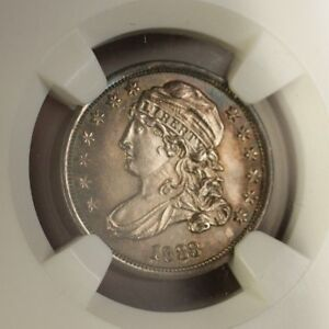 Click now to see the BUY IT NOW Price! 1833 US CAPPED BUST SILVER DIME 10C COIN NGC MS 64  BETTER GEM SPECIMEN