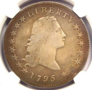 1795 FLOWING HAIR SILVER DOLLAR BB 21  $1 COIN    NGC FINE DETAILS    COIN