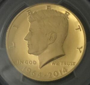Click now to see the BUY IT NOW Price! 2014 W 50C GOLD JFK 50TH ANNIVERSARY CHICAGO ANA  PROOF  KENNEDY HALF DOLLAR
