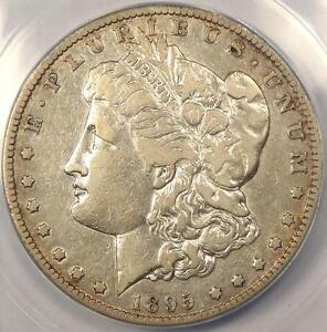 1895 S MORGAN SILVER DOLLAR $1   ANACS VF30    KEY DATE CERTIFIED COIN