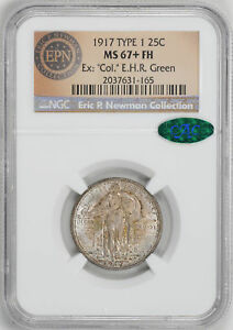 Click now to see the BUY IT NOW Price! 1917 STANDING LIBERTY 25C NGC MS 67  FH