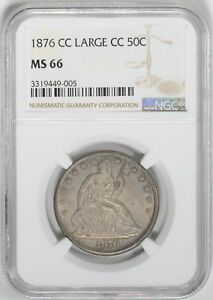 Click now to see the BUY IT NOW Price! 1876 CC LIBERTY SEATED 50C NGC MS 66
