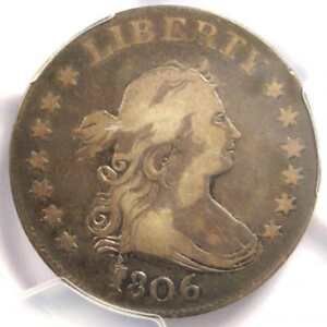 1806 DRAPED BUST QUARTER 25C B 9   CERTIFIED PCGS VF DETAILS    COIN