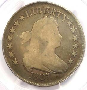 1807 DRAPED BUST HALF DOLLAR 50C COIN O 109A   CERTIFIED PCGS VG10    COIN