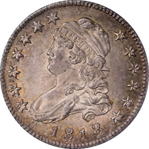 Click now to see the BUY IT NOW Price! 1818 25C CAPPED BUST QUARTER PCGS MS65 CAC