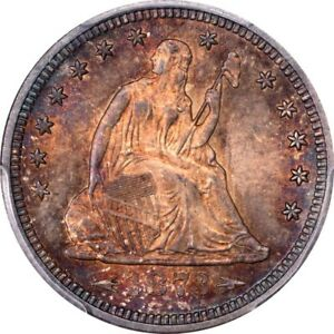 Click now to see the BUY IT NOW Price! 1873 25C ARROWS LIBERTY SEATED QUARTER PCGS MS65 CAC EX. POGUE