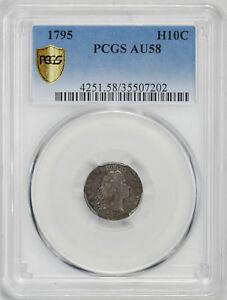 Click now to see the BUY IT NOW Price! 1795 FLOWING HAIR H10C PCGS AU 58