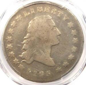 1795 FLOWING HAIR SILVER DOLLAR  $1 COIN    CERTIFIED PCGS VG DETAIL    COIN