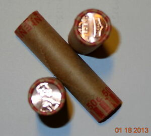 2012 P ONE  1  ROLL OF UNCIRCULATED  LINCOLN SHIELD PENNIES