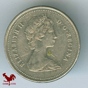 CANADA     1985  CANADIAN  5 CENTS COIN  NO.2  MONEY