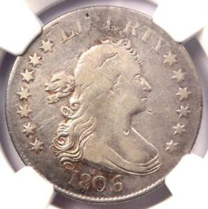 1806 DRAPED BUST QUARTER 25C COIN   CERTIFIED NGC FINE DETAILS    COIN