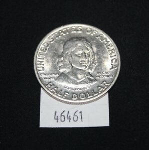 WEST POINT COINS   1934 MARYLAND 50 CENT SILVER COMMEMORATIVE PIECE