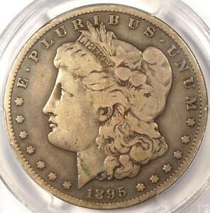 1895 S MORGAN SILVER DOLLAR $1   PCGS VG10  VERY GOOD     CERTIFIED COIN