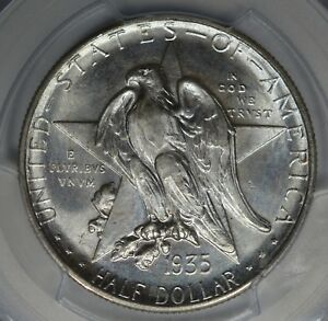 Click now to see the BUY IT NOW Price! 1935 S 50C TEXAS PCGS MS67