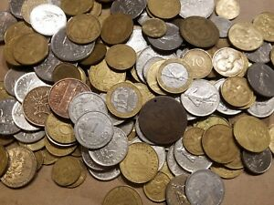Click now to see the BUY IT NOW Price! 1 POUND OF FOREIGN / WORLD COINS FROM FRANCE FOUR POUND LB FRENCH LOT NICE