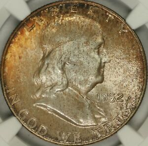 Click now to see the BUY IT NOW Price! 1952 D FRANKLIN HALF DOLLAR NGC MS67FBL