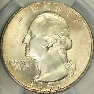 Click now to see the BUY IT NOW Price! 1951 D WASHINGTON QUARTER PCGS MS67