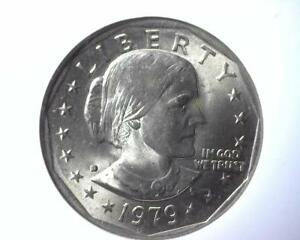 1979 D SUSAN B ANTHONY DOLLAR NGC MS 66 FIRST DAY OF ISSUE 2202855 021