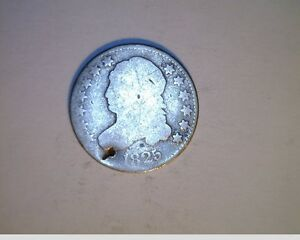 1825 US CAPPED BUST DIME AVER CIRCULATED SILVER  US 5925