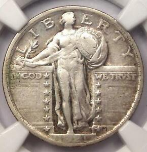1921 STANDING LIBERTY QUARTER 25C   CERTIFIED NGC VF30    DATE   $825 VALUE