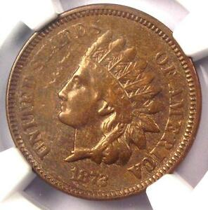 1872 INDIAN CENT 1C   NGC XF DETAILS    EARLY DATE CERTIFIED PENNY